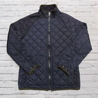 Vintage Polo Ralph Lauren Quilted Riding Jacket Size M Navy