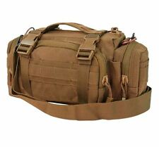 Condor MOLLE Modular Tactical Nylon Shoulder Deployment Bag 127-498 COYOTE BROWN