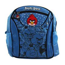 "Brand New Rovio Angry Birds Blue 10"" Kids Boy Girl School Bag Backpack Supplies"