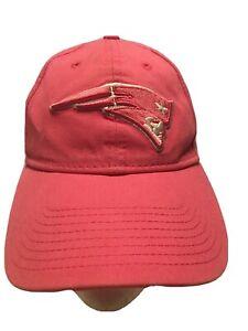 New England Patriots NFL Licensed New Era Women's Pink 100% Cotton Cap Hat