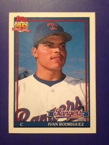 Ivan Rodriguez 1991 Topps Traded RC #101T