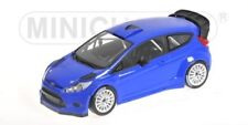 Scale model 1/18 Ford Fiesta RS WRC, 2011 (Blue)