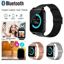 Smart Wrist Watch Z60 Camera Bluetooth GSM Phone For Android Samsung LG iPhone