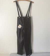 Rubber Pants Vintage 1950s Trousers Suspenders Warmster Ski Snow Medium NWT USA