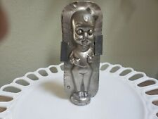 Vintage Chocolate Mold-Bellboy, standing with small pill box hat
