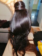 Ponytail hair extensions human hair