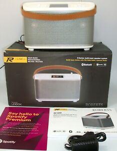 ROBERTS R100 INTERNET & DAB RADIO & BLUETOOTH MAINS & BATTERY WITH MULTI-ROOM ##