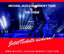 Hamburg - 2 Tickets- Michael Jackson Memory Tour - Laeiszhalle
