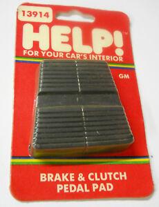 Dorman Help 20733 Brake & Clutch Pedal Pad Buick Cadillac Chevrolet Olds Pontiac