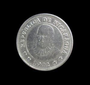 NICARAGUA 25 CENTAVOS 1972 KM 18.3 #6702#