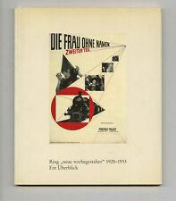 1990 Piet Zwart RING NEUE WERBEGESTALTER Overview Schwitters Avant-Garde Typogra