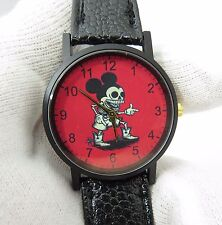 MICKEY MOUSE,Skeleton,Walking Dead Inspired UNISEX CHARACTER WATCH,973,L@@K!