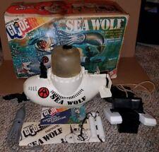 Hasbro G.I. Joe Adventure Team Sea Wolf Submarine with Box