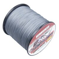 Gray 300M/1000M/500M/100M pe Dyneema Braided Fishing Line 6LB-300LB