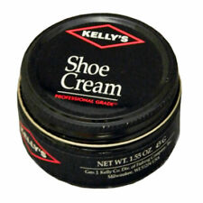 New listing 1 Ounce Kelly'S Unique Cream Polish Rich In Natural Waxes Shoe Cream Dusky Brown