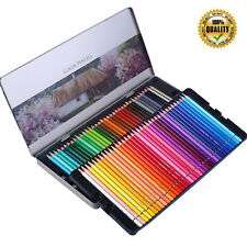 Professional Colored Pencils Set Artists Sketchers Drawing Oil-Based Softcore