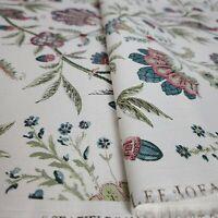 LEE JOFA Fabric 2.8 Yards SEAFIELD AERIN TEAL PINK SKU 2013124.715.0