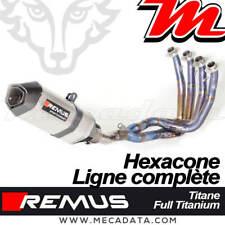 Ligne complète échappement REMUS Titane Honda CBR 1000 RR Fireblade SP2 2018