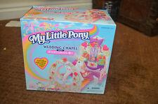 RARE Vintage G2 My Little Pony MLP Wedding Chapel Playset w/ Dainty Dove
