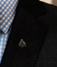 Freemason Symbol Masonic Lapel Pin Badge G Geometry Square Compass Illuminati