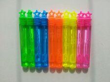 30 Mini Bolle BACCHETTE Neon Stelle Per Bambini Festa Borsa Filler