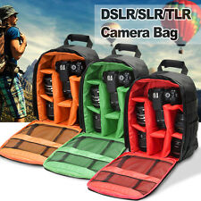 Waterproof DSLR Video Camera Case Backpack Shoulder Bag For Canon Nikon Sony