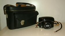 Zeiss Ikon Camera Contaflex 126 w 14972 Lens w Case & Carry Bag