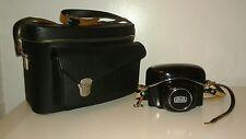 Zeiss Ikon Camera Contaflex 126 w 14972 Lens w Case & Carry Bag