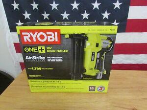 Ryobi P320 Airstrike 18 Volt One+ Lithium Ion Cordless Brad Nailer TOOL ONLY