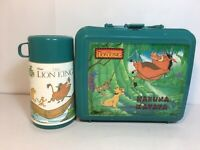 Disneys The Lion King Lunch Box and Thermos Hakuna Matata Aladdin USA