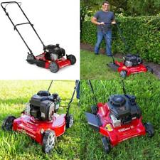 Hand Push Lawn Mower Cutter 20 In. Side Discharge w/ Briggs And Stratton Engine