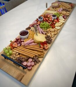 Extra Large wooden charcuterie/Grazing/Serving Board