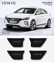 DXSOAUTO White LED Inside Door Catch Black Plate 4p for Hyundai IONIQ 2017-2018