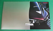 HONDA DN-01 MOTO AUTOMATICO SCOOTER ADVERTISING PUBBLICITA DEPLIANT BROCHURE