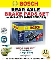 Rear Axle BRAKE PADS + SENSORS SET for MERCEDES BENZ CLS 320 CDI 2005-2010
