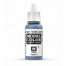 Vallejo Model Color: Grey Blue - VAL70943 Acrylic Paint 17ml Bottle 061