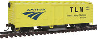 Walthers Trainline HO Scale 40' Box Car Track Cleaner Amtrak/Track Laying Logo