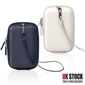 Digital Camera Hard Case Bags For Canon PowerShot NIKON SONY Panasonic Cover UK