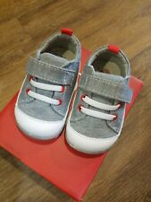 New Smaller by See Kai Run,Stevie II gray jersey early walkers shoes,3,NIB