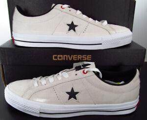 Converse One Star Pro Suede Ox Sneaker Lunarlon Insole Off White 153480C 9 Men