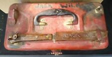 Vintage:Art Deco & Fille Knife Sears Roebuck & Company Metal Fishing Tackle Box