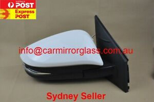 NEW DOOR MIRROR FOR TOYOTA RAV4 2013 - 2018 RIGHT SIDE  (WHITE, ELECTRIC)