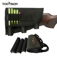 Tourbon Adjustable Cheek Rest Ruger American Rifle Stock Ammo Holder 3 Cheek Pad