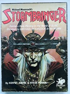 Michael Moorcock's Stormbringer box set Role Playing Game, Chaosium Inc. 2101-x