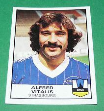 N°315 ALFRED VITALIS STRASBOURG RPSM PANINI FOOTBALL 84 1983-1984