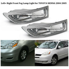 For TOYOTA SIENNA 2004 2005 One Pair Left+ Right Front Fog Driving Lamp Light US
