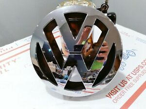 ✅ 2004 2005 2006 2007 VW Touareg Front GRILLE EMBLEM Badge OEM 👍 FREE SHIPPING