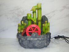 Feng Shui - 2017 Bamboo Water Wheel Fountain for Future Prosperity