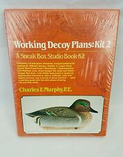 Working Plans for Working Decoys Kit 2 Charles F Murphy P.E. Winchester Press