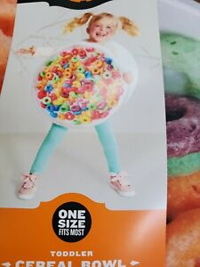 Fruit Loop Cereal Bowl Toddler Costume One Size Fits Most